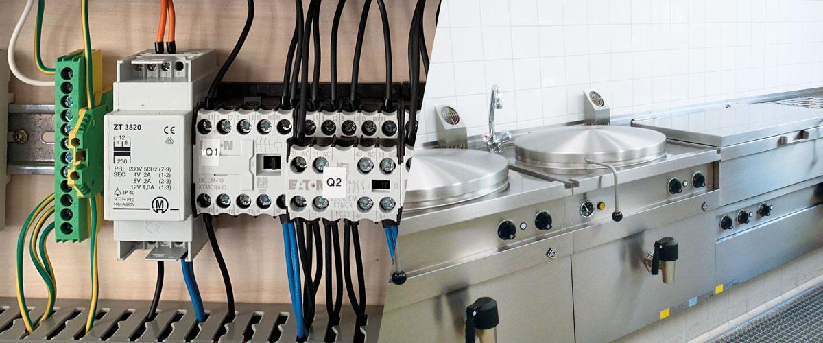 Elektro und Großküchen